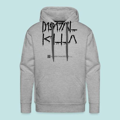 Digital Killa (black) - Men's Premium Hoodie