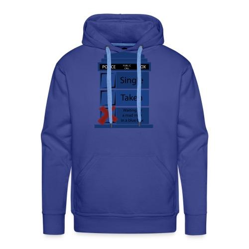 Doctor who hoodie| relationship status - Men's Premium Hoodie