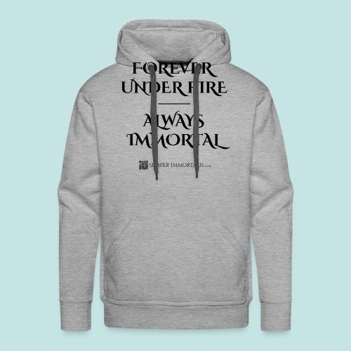 Always Immortal (black) - Men's Premium Hoodie