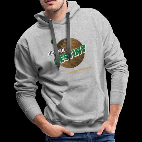 Fistful of Destiny Planets Design - Men's Premium Hoodie