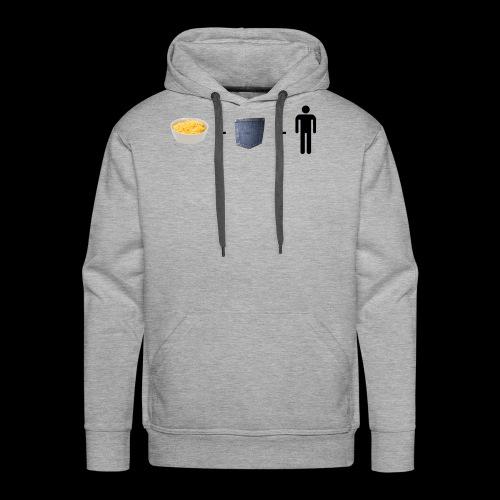Macaroni Pocket Man Shirt - Men's Premium Hoodie