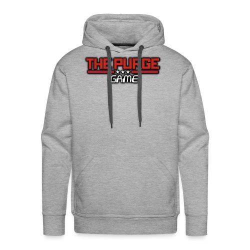 Purge Logo - Men's Premium Hoodie