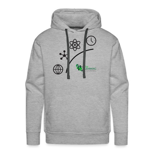 Matter Energy Space Time (Black) - Men's Premium Hoodie