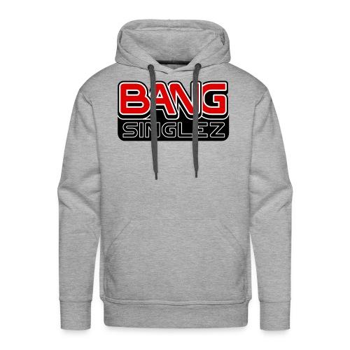 BangSinglez Logo Red - Men's Premium Hoodie