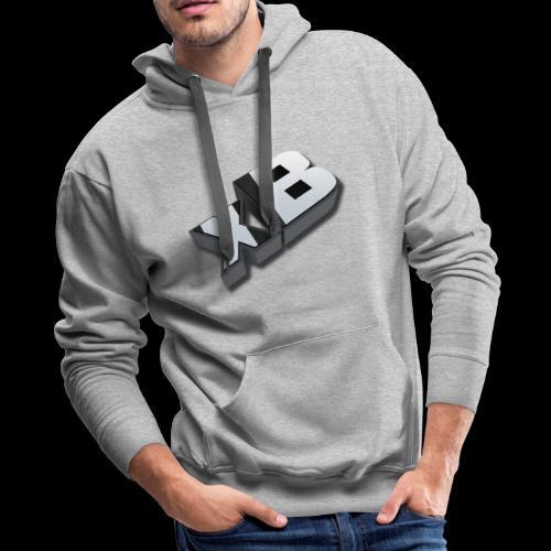 xB Logo - Men's Premium Hoodie