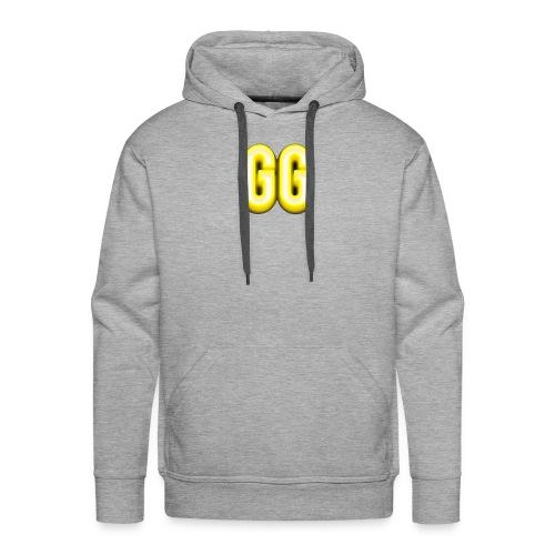 gg golden gamer logo - Men's Premium Hoodie