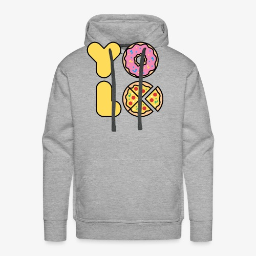 You Only Lift Once - Men's Premium Hoodie