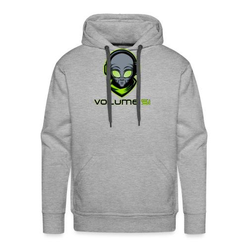 Volume 51 Text Logo - Men's Premium Hoodie