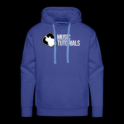 Music Tutorials Logo - Men's Premium Hoodie