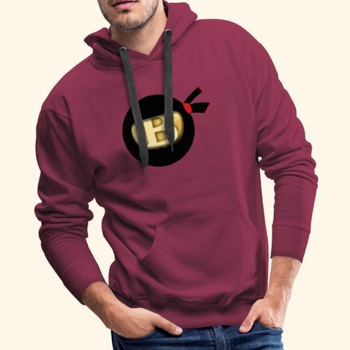Bitcoin Ninja - Men's Premium Hoodie