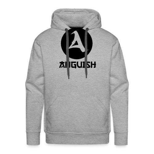 Anguish Lg Wé Writing png - Men's Premium Hoodie