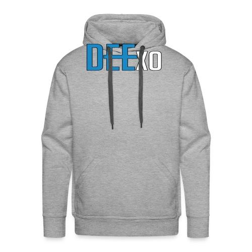 Blue & White Dee Merch - Men's Premium Hoodie