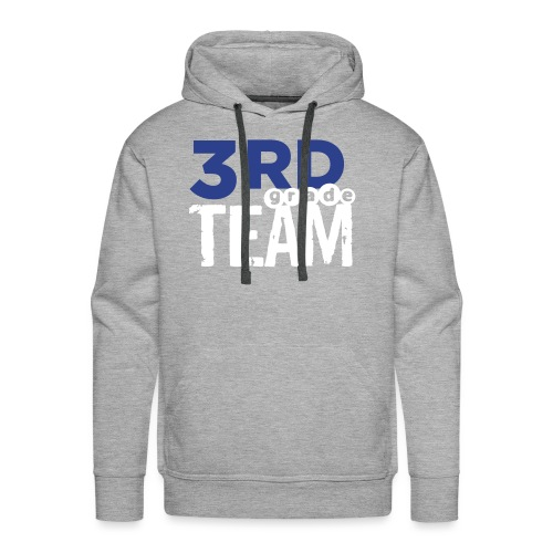 Bold 3rd Grade Team Teacher T-Shirts - Men's Premium Hoodie