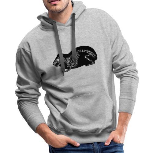 Skeleton Guinea Pig - Men's Premium Hoodie