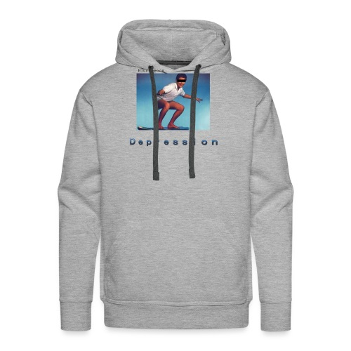 Depression album merchandise - Men's Premium Hoodie