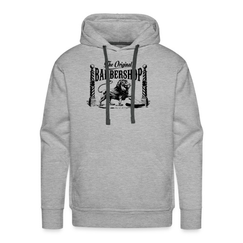 The Original Barbershop - Men's Premium Hoodie