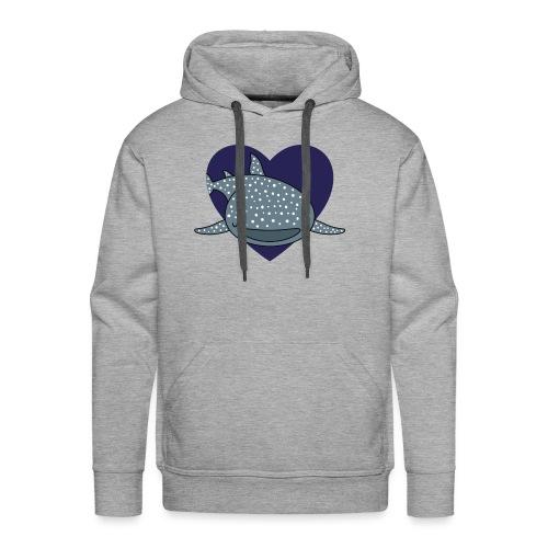Whale Shark Love - Men's Premium Hoodie