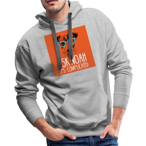 Ask Noah Christian Funk - Men's Premium Hoodie