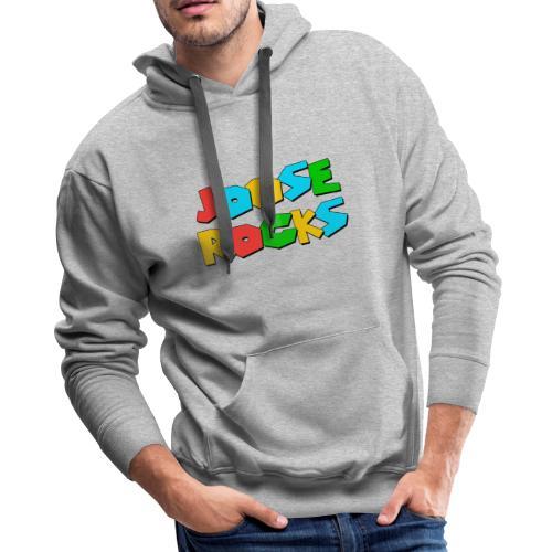 Super Joose Rocks - Men's Premium Hoodie
