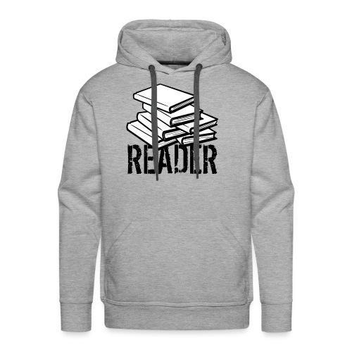 reader - Men's Premium Hoodie