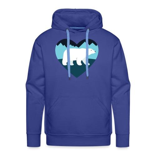 Polar Bear Love - Men's Premium Hoodie