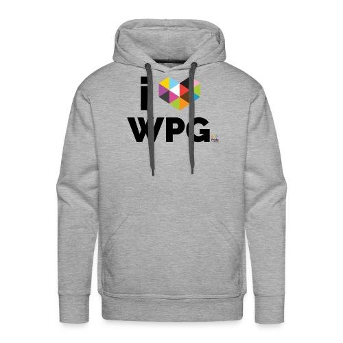 I heart WPG - Men's Premium Hoodie