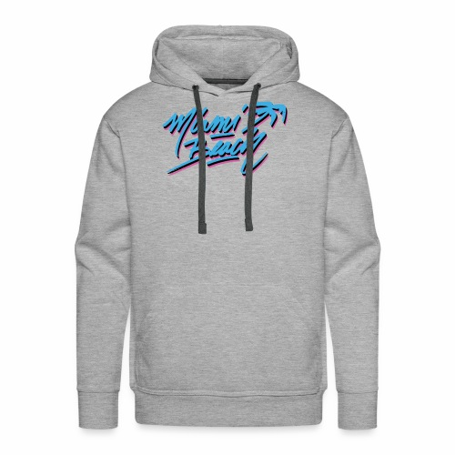 Miami Beach shirt - Men's Premium Hoodie