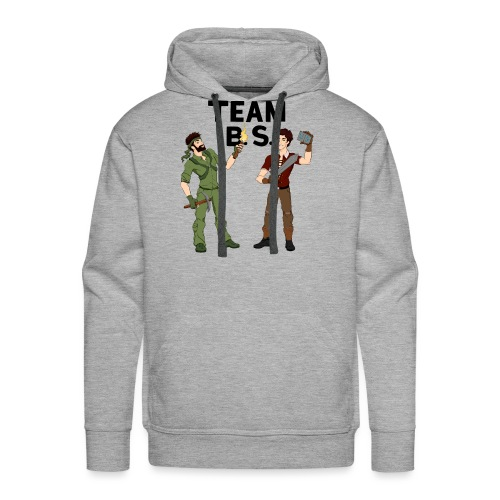 teambs-caglee-cropped - Men's Premium Hoodie