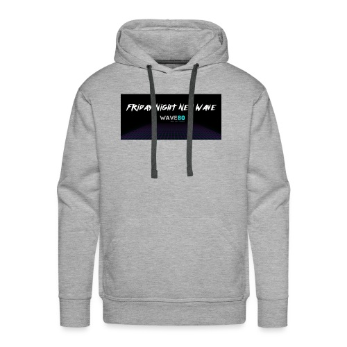Friday Night New Wave - Men's Premium Hoodie
