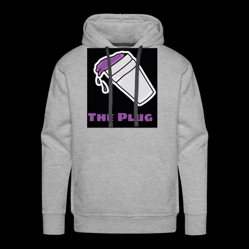 the Plug logo - Men's Premium Hoodie