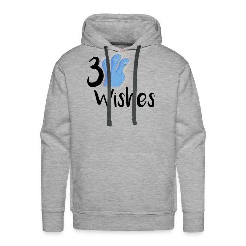 3 Wishes Abstract Design. - Men's Premium Hoodie