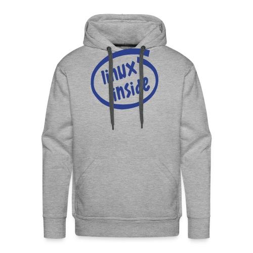 linux inside - Men's Premium Hoodie