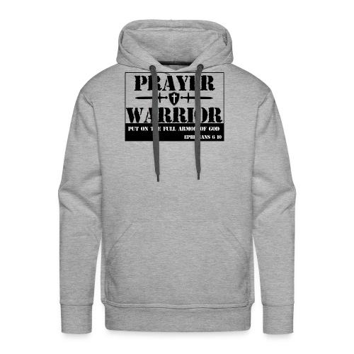 Prayer warrior - Men's Premium Hoodie