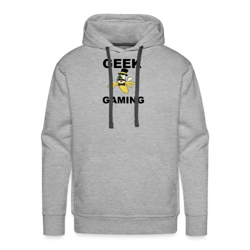Geek Gaming (slippery Sam tee) - Men's Premium Hoodie