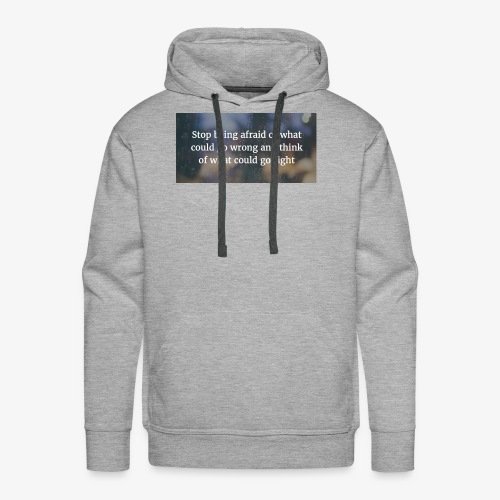 30 Motivational Quotes To Overcome The Challenges - Men's Premium Hoodie