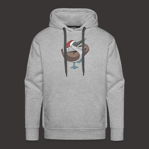 Boobie Bird Xmas Dance - Men's Premium Hoodie