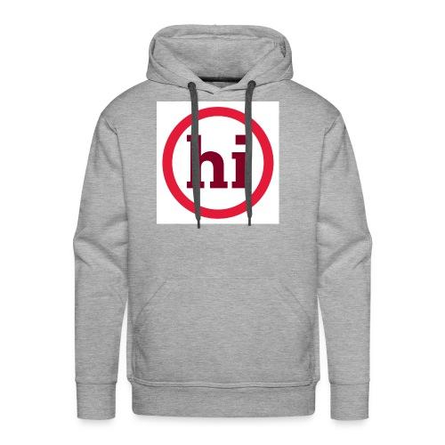 hi T shirt - Men's Premium Hoodie
