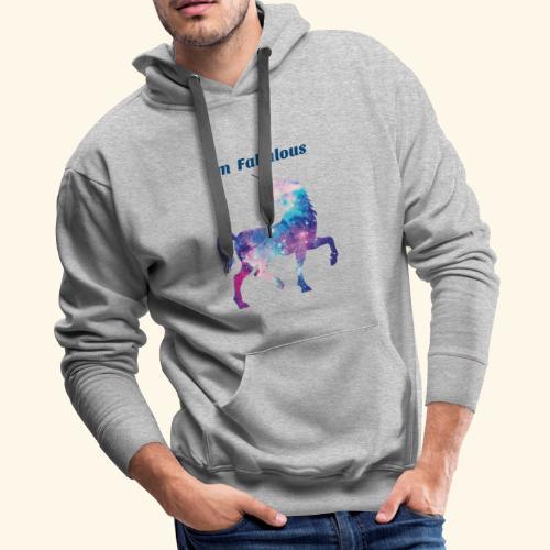 I'm Fabulous Unicorn - Men's Premium Hoodie