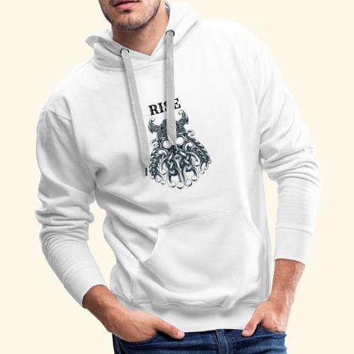 RISE CELTIC WARRIOR - Men's Premium Hoodie