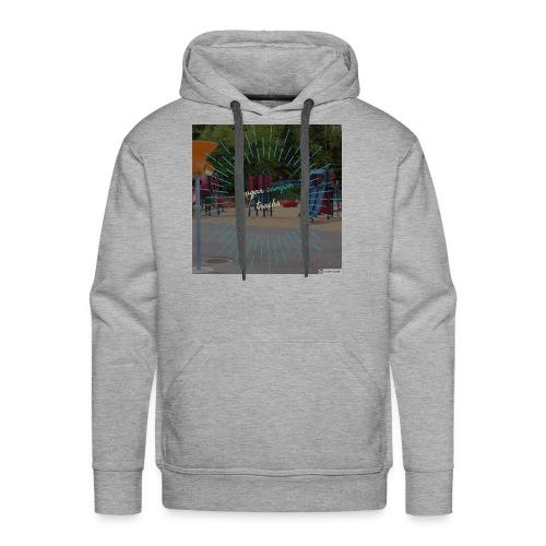 t-shirt cougar canyon tracks - Men's Premium Hoodie