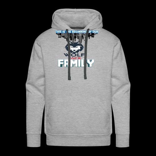 We Are Linked As One Big WolfPack Family - Men's Premium Hoodie