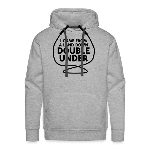I Come From A Land Down Double Under - Men's Premium Hoodie