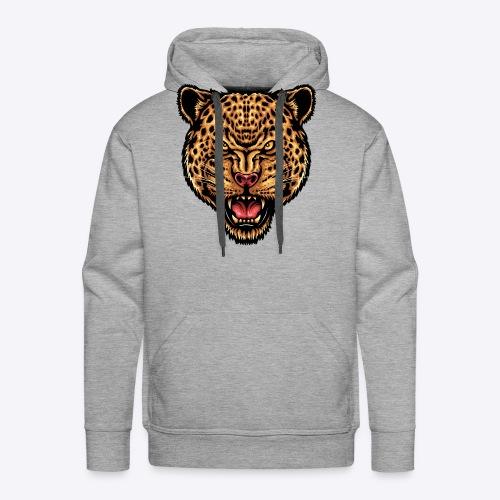 strength_and_focus_jaguar - Men's Premium Hoodie