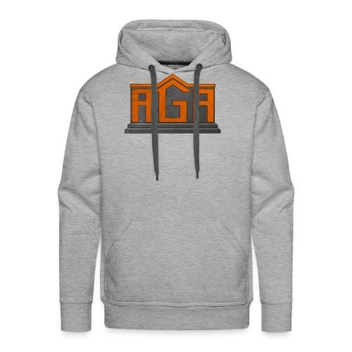 AGA Logo PNG - Men's Premium Hoodie
