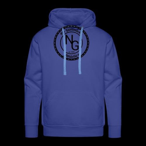no gimmicks logo svart - Men's Premium Hoodie
