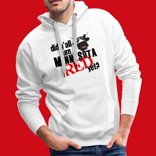 Turn Minnesota Red - Men's Premium Hoodie
