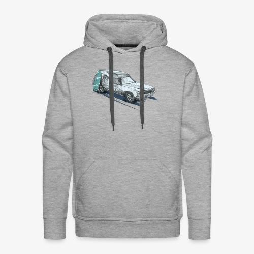 Surfin' Panel Van - Men's Premium Hoodie
