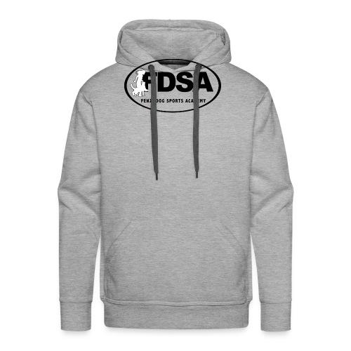 FDSA BLACKWHITE LOGO 2018 - Men's Premium Hoodie