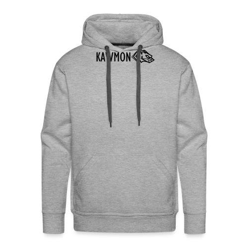 Kawmon Athleisure Gym Apparel Chest Logo - Men's Premium Hoodie