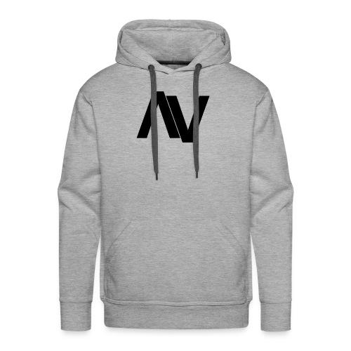 AviaryVision Logo (Black) - Men's Premium Hoodie